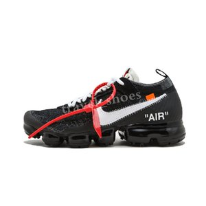 off Vapor VPM Fly 2.0 Kinit Running Shoes Black White Men Women Breathable FK Low Camping Hiking Footwear Sneaker US5.5-11 TC04