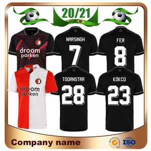 20 21 Feyenoord Soccer Jerseys 2020 Away NARSINGH FER JORGENSEN BERGHUIS Soccer shirt BOZENIK KOKCU V.PERSIE Football uniform
