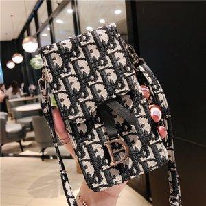 Meninas Cell Phone malotes Mobile Phone Bag Mini Bag Cartão Cacket Moda Bolsa Retro carteira para Mulheres