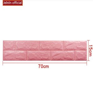 2016 Wall Stickers Self Adhesive Foam Brick Room Decor DIY 3D Wallpaper Wall Stickers discount off factory prices home2010 fXPoD