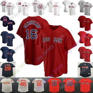 Boston Jersey J. D. Martinez Chris Sale Johnny Damon Kevin Youkilis Nomar Garciaparra Luis Tiant Ted Williams Pedro Martinez Wade Boggs