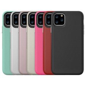 2in1 Samsung S20 S10 Pixel 3 Hibrid Zırh Telefon Kılıfı iPhone 11 Pro XS Max XR Premium Kalite Darbeye Davaları Anti-fall