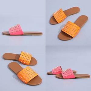 Indoor Ome Soes Dener pantofole per Cildren fumetto Infradito Nero Rosa Blu Giallo Blu Donna Uomo estate 2020 sandali nuovo arrivo # 170