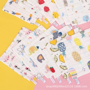 FXyES 30 30 high-density six-layer gauze bubble yarn cotton cloth handkerchief children's towel face wash towel absorbent soft and comfortab