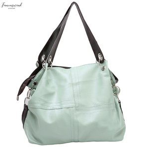 Vintage Womens Casual Soft Pu Leather Handbag Tote Trendy Shoulder Bags Cross Body Bag 4 Colors New Arrival 868520