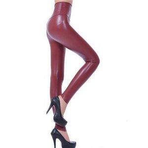 Women Leggings Faux Leather High Quality Slim Leggings Plus Size High Elasticity Sexy Pants Leggins Leather Boots Leggings S1