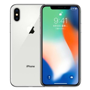 "refurbished iPhone X Face ID 5.8"" Touchscreen 3GB RAM iOS A11 Dual 12MP Cameras 4G LTE Unlocked iphonex Black White"