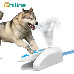 Automatic Dog Water Feeder Outdoor Pet Dog Water Fountain Puppy Cat Drinking Water Bottle Pet Drink Bowl Dog Drinking Dispenser T200624