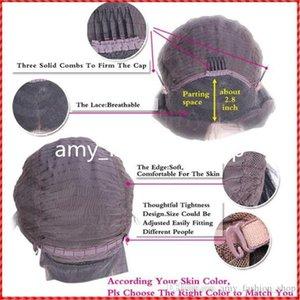 GOOD Full Lace Human Hair Wigs Wavy 7A Brazilian Glueless Full Lace Wigs Human Hair Lace Front Wigs Black Women