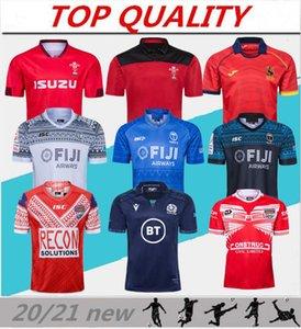 2020 jersey rugby coupe du monde au Pays de Galles maillots rouges 20 21 ligue de rugby Espagne rugby Ecosse chemises Fidji Tonga chemises