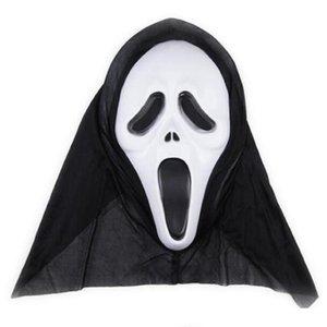 Horror Skull mascherine del partito di Halloween maschere Decor Urlando Maschere scheletro Smorfia Props Fronte pieno per gli uomini donne Masquerade DWF279