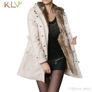 Women Jacket Winter Long 2018 Fur Wool Liner Hooded Parka Thick Plus Size Ladies Chamarra Cazadora Mujer Coat For Girls 18Oct231