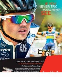 İthal İtalya BOLLE 6 duyu yürüyerek 11841 profesyonel açık bisiklet dağcılık Hd golf güneş gözlüğü