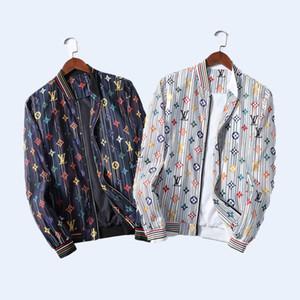 New Mens Designer Jackets Letter embroidery printed long sleeve mens coats Top quality Brand jacket Hooded windbreaker men women jackets