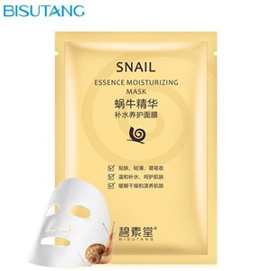 Snail Essence Moisturizing Mask Hyaluronic Anti-Aging Black Face Mask Skin Care Facial Mascarilla Wholesale Hydrating Collagen Masks