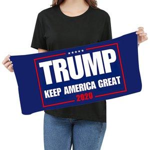 Microfiber Trump Face полотенце 35 * 75см American Выборы Quick Dry Абсорбент Спорт Полотенце Make America Great Опять Полотенца LJJO8211