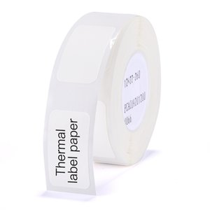 Niimbot D11 high-quality waterproof and oil-proof and scratch-resistant pure white label paper roll in various specifications and styles