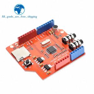 TZT VS1053 VS1053B audio stereo MP3 Player Shield Record Decode Sviluppo bordo del modulo con TF card slot Per ONU R3 di Arduino 64nb #