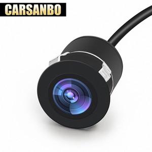 Carsanbo Мини Обратный Резервное копирование автомобиля спереди / Вид сзади заподлицо Водонепроницаемая камера ночного видения Широкий угол обзора с Drill XFCr #