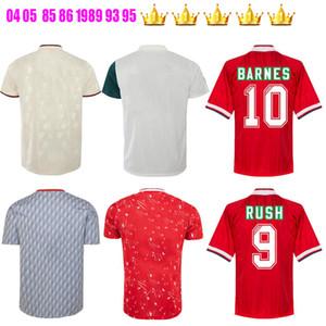 1985 1986 1989 93 94 95 96 1994 1996 Rausch Torres Kuyt Fowler JOHN BARNES retro Fußball-Trikot 1990 zu Hause weg klassischen Vintage-Fußballhemden