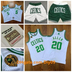 Mitchell Ness 20 Ray Allen Boston