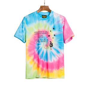 20ss Drew House Tee tre Dei olio Religious painting T-shirt maniche corte Vintage Summer Street Men T-shirt HFYMTX640