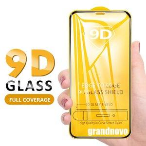 9D 전체 접착제 강화 유리 가드 필름 화면 보호기 삼성 갤럭시 A10S A20S A30S A40S A50S A70S A10 A20 A30 A40 A50 A60 A70 A80 A90