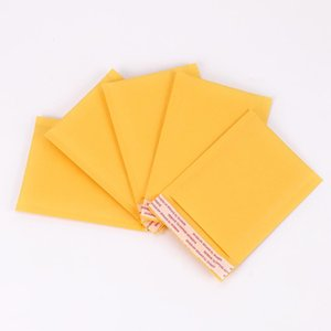 Großhandel 110 * 130mm Blase Umschlag-Beutel Mailers Padded Verschiffen-Umschlag Kraft Papier Blase Mailing-Tasche Fragile Supplies