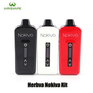 Authentische Airis Mini Herbva Nokiva Kit 2200mAh Akku Airistech Dry Herb Vaporizer Vape Pen-Set mit Keramik-Kammer Original-