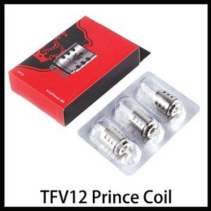 TFV12 Prince-Coil Q4 X6 T10 M4 Mesh Strip Massive vapeur Vape remplacement Bobine Head Cloud Beast Réservoir DHL Livraison rapide