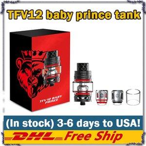 TFV12 bébé prince réservoir de bébé Beast King avec Q4 T12 Mesh Bobines Vape réservoir VS TFV12 réservoir prince 0266207