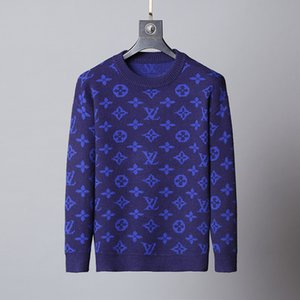 Men Designer Hoodies Sweater Pullover Brand Hoodie Long Sleeve Designer Sweatshirt Letters Embroidery Knitwear Winter Mens Clothing