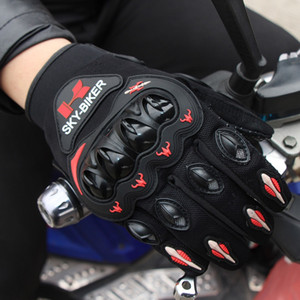 Hot-selling outdoor motorcycle riding gloves, drop-resistant, non-slip, breathable, racing equipment, sports fans, full-finger riding touch