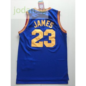 Cheap 554 Basketball Sports Jerseys Sportswear Blue James #23 S-xxl Top Stitched Jersey