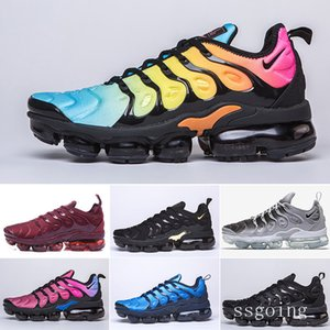 HOT sale TN PLUS Running Shoes For Men Women Black Speed Red White Anthracite Ultra White Black 2019 Best Designers Sneakers NHKKR