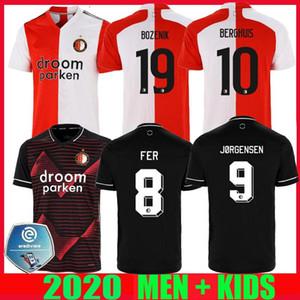 20 21 Feyenoord Soccer Jersey Kokcu Berghuis Fer Camiseta de futbol Jorgensen Camiseta de futbol 2020 2021 Accueil Hommes Enfants Football Football Shir