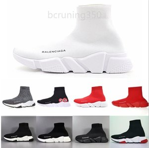New Paris Speed Trainers Knit Sock Shoe Original Luxury Mens Womens Sneakers Cheap High Top Quality Casual Shoes With Box YNFPP