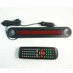 자동차 12V LED 메시지 로그인 프로그램은 원격 제어 도구를 스크롤 보드 이동