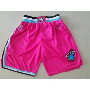 2019-20 New season HOT basketball jerseys shorts PINK Cheap stitched Basketball jerseys