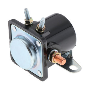 Hot Rod Starter Relay Solenoid SW3 Replacement Fits Ford 1956-up Black