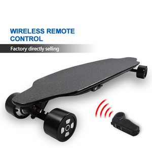 Kids Adult Electric Skateboard 4 Wheel Self Balancing Skateboarding with Remote Control Factory Directly Selling 30Km h Speed