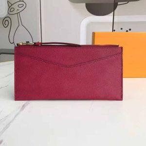 2020 borsa all'ingrosso di qualità TOP borse frizione borse moda vera pelle Borsa borsa portafoglio donna con la scatola originale sacchetto di polvere 68712 20x10cm