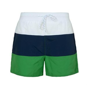 2020 Fashion Men Stripe Shorts Summer Men Surf Beach Embroidery Shorts Male Board Shorts Plus Szie M-XXL