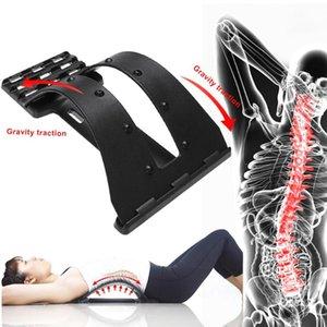 Вернуться Stretch оборудование Массажер Магия Носилки Фитнес поясничная поддержка Расслабление позвоночника боли Dropshipping