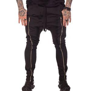 2020 Yeni Erkek Pantolon sıkıştır Koşucular Tozluklar Erkekler Fitness Egzersiz Yaz Spor Spor Erkek Pantolon Nefes Pantolon