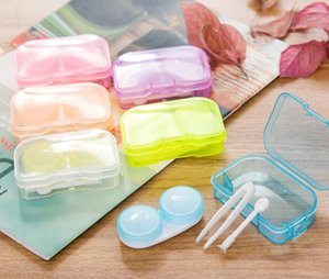 4 in 1 kits Companion box with Hanging hole contact lens box Eyeglasses Case Dressing case Free Ship