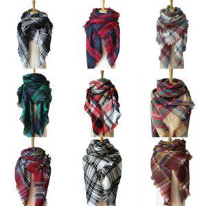 Falso Collar New Lady blinger longo Faux Fur Raccoon Fur cachecol quente inverno Fox Fur Xaile E Wraps Multicolors D19011003 # 533