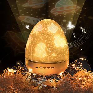 Светодиодный проектор Bluetooth Music Starry Sky Projector лампа Рождественский подарок прикроватный ночной свет новый странный яичный кошелек 10253