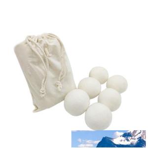 6cm والصوف الجاف الكرة المنزلية غسل وممرضة الملابس ورأى مجفف الكرات الصغيرة العملي النسيج المنقي منتجات غسيل 2 2tj سم مكعب
