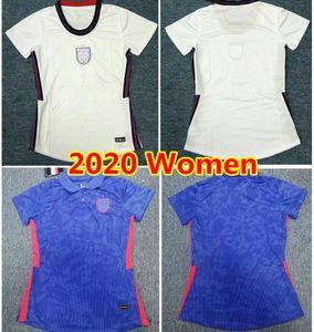 İngiltere Kadın Futbol Forması # 9 Kane Sterling Lingard Üniforma Lady # 11 Vary Rashford Del Futbol Gömlek